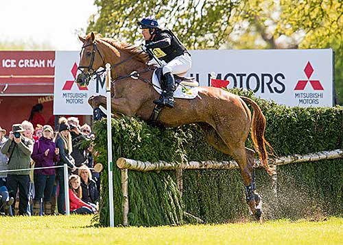 Oliver Townend (GBR) and CDE-bred Armada (Fines - Berganza 18 x Golfi)