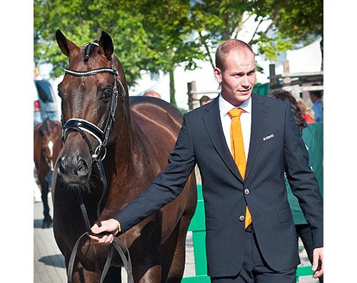 Diederik van Silfhout and Arlando Photo: Kathleen van de Winde