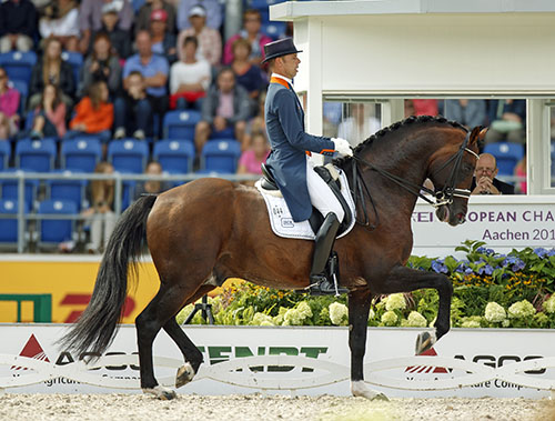 Johnson (Jazz - Roxane x Flemmingh) ridden by Hans-Peter Minderhoud (NED) Photo: FEI/Caremans